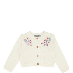 Embroidered Knit Cardigan