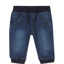 Baby Cuffed Jeans