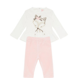 Baby Two-Piece Fox T-Shirt and Trousers
