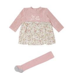Baby Floral Print Dress
