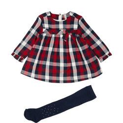 Baby Check Print Dress