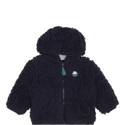 Zip-Up Fleece Cardigan