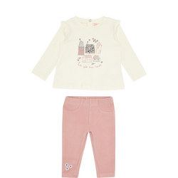Girls Two-Piece Town Set