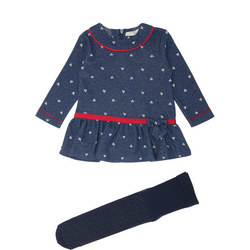 Baby Heart Print Dress