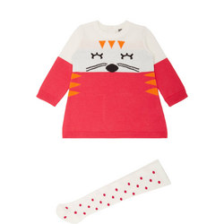 Baby Knitted Cat Dress