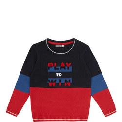 Boys Play To Win Sweater