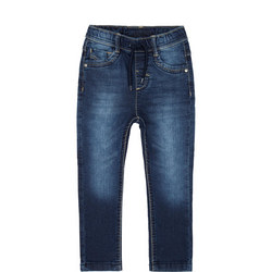 Girls Pull On Jeans