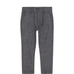 Boys Herringbone Trousers