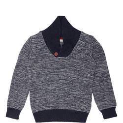 Boy Cowl Neck Sweater