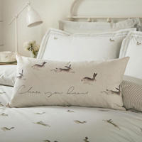 Hares Duvet Set White