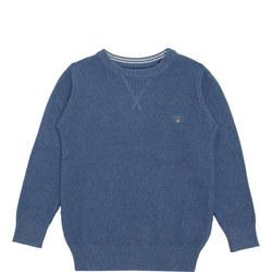 Boys Waffle Knit Sweater