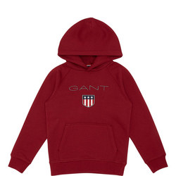 Boys Shield Logo Hoody