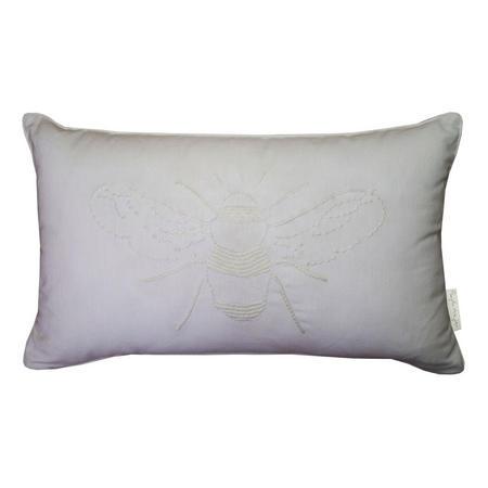 Bees Cushion White