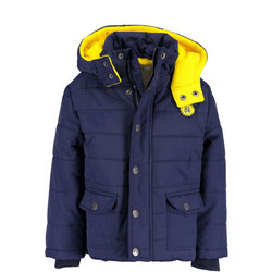 Fleece Lined Puffer Jacket