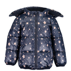 Babies Star Print Puffer Jacket