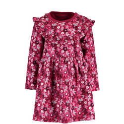 Babies Floral Ruffle Dress