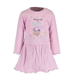 Babies Fairy Dust Slogan Dress