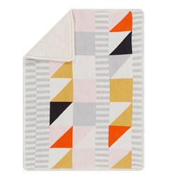 West Elm x PBK Divided Squares Baby Blanket