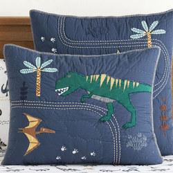 Organic Jurassic Standard Pillowcase