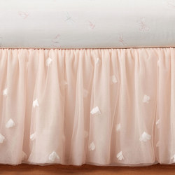 Monique Lhuillier Sateen Ethereal Butterfly Cot Skirt
