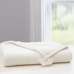 Luxe Knit Sherpa Baby Blanket