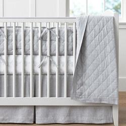 Belgian Linen Toddler Bedspread