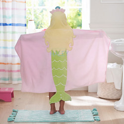 Kids Mermaid Bath Wrap