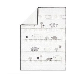 Shelby Sheep Baby Bedspread