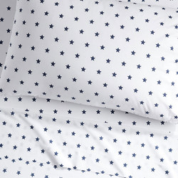 Organic Star Fitted Sheet