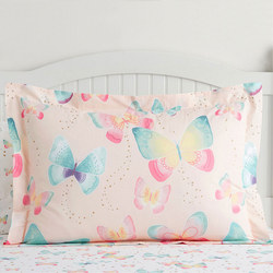 Organic Gigi Butterfly Oxford Pillowcase