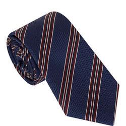 Stripe Print Tie