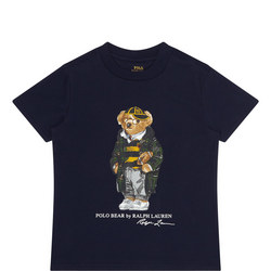 Boys Rugby Bear T-Shirt