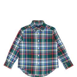 Boys Madras Checked Shirt