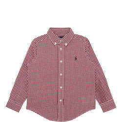 Boys Gingham Check Shirt