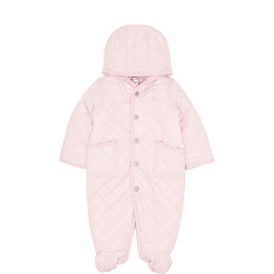 Baby Quilted Snowsuit