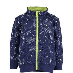 Space Print Jacket
