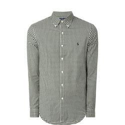 Gingham Twill Shirt