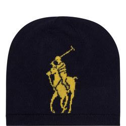 Logo Wool Beanie Hat