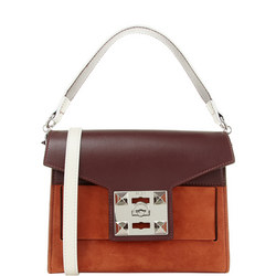 Mila Two-Tone Shoulder Bag