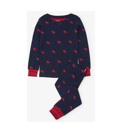 Moose Print Pyjamas