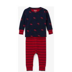 Moose Stripe Pyjamas