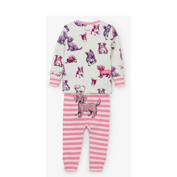 Babies Puppy Print Pyjamas