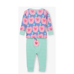 Apple Print Pyjamas