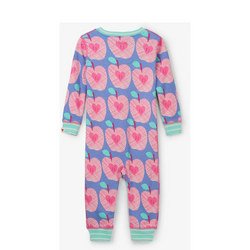 Apple Print Sleepsuit