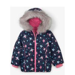 Star Print Puffa Jacket