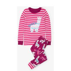 Llama Stripe Pyjamas