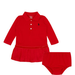 Babies Pleated Dress