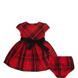Babies Plaid Taffeta Dress