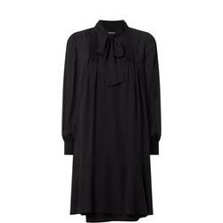Anniecad Tie Neck Dress