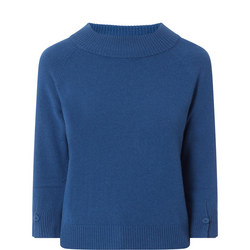 Maracas Cropped Sleeve Sweater